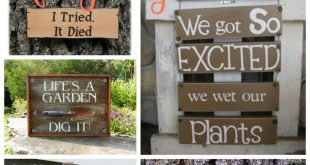 25 super funny Garden signs