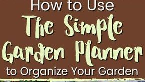How to Start Organizing Your Garden with the Simple Garden Planner