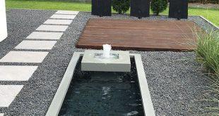 Wasserobjekt Formales Becken mit Alumento 60