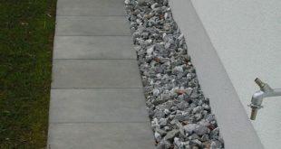 10 formas de usar grava in el jardín: Desagües