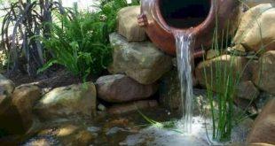 12 innovative Garten- und Wasserfall-Gartenideen für Familien #familien #garde...