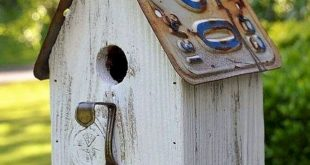 15 Awesome Birdhouse Ideas To Make Your Beautiful Garden Design
