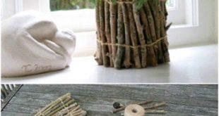 25 billig und einfach DIY Haus und Garten Projekte mit Sticks und Zweige