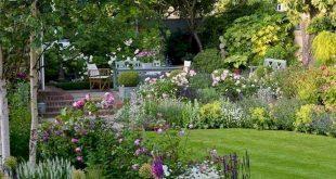 80 schöne Vorgarten Cottage Garden Landschaftsbau Ideen – Gartenideen + garde