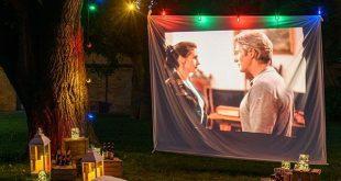 Cinema all'aperto nel tuo giardino