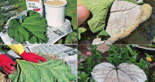 DIY Garden Decor Ideas Using Concrete