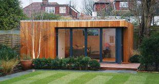 Einfache Outdoor Sommer Haus Platzierung