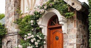 Garten der Alten Welt in Kalifornien - #Alten #cottage #Der #Garten #Kalifornien...